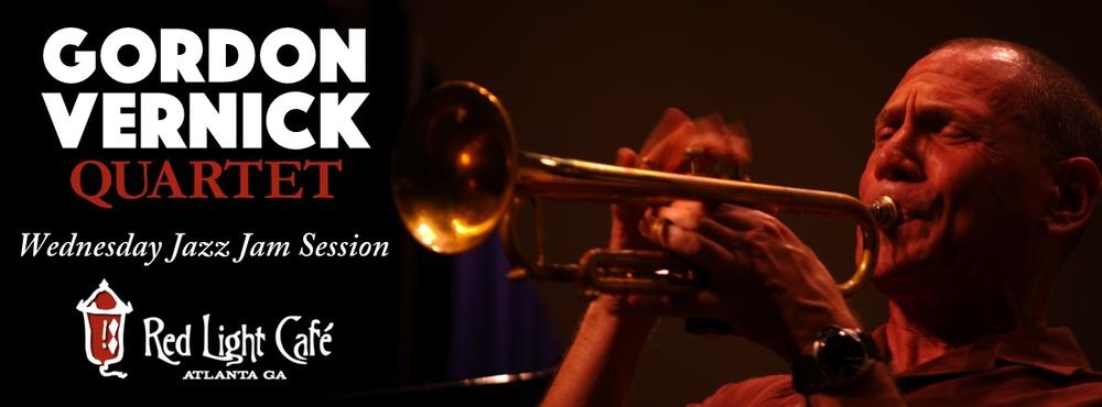 The Gordon Vernick Quartet Wednesday JAZZ JAM — September 30, 2015 — Red Light Café, Atlanta, GA