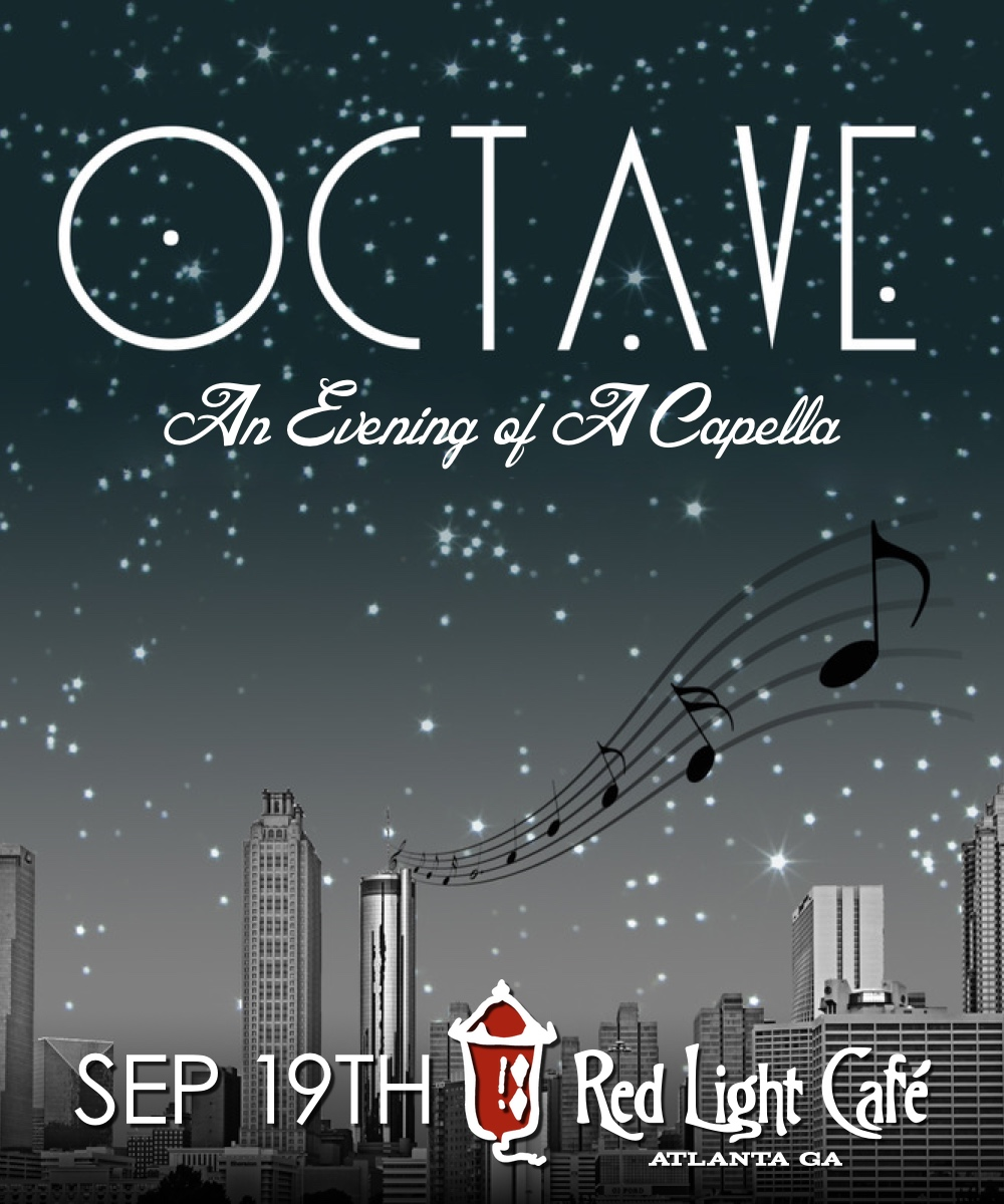 Octave A Capella — September 19, 2015 — Red Light Café, Atlanta, GA