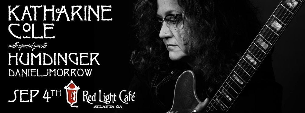 Katharine Cole w/ Humdinger + danieljmorrow — September 4, 2015 — Red Light Café, Atlanta, GA