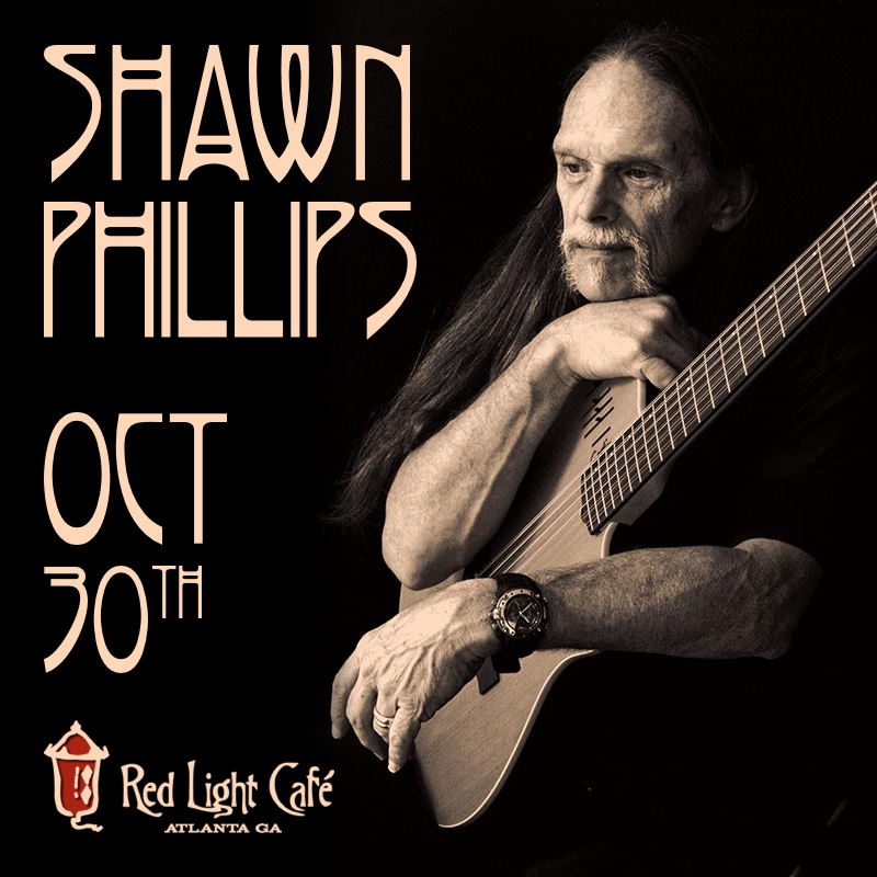 Shawn Phillips — October 30, 2015 — Red Light Café, Atlanta, GA