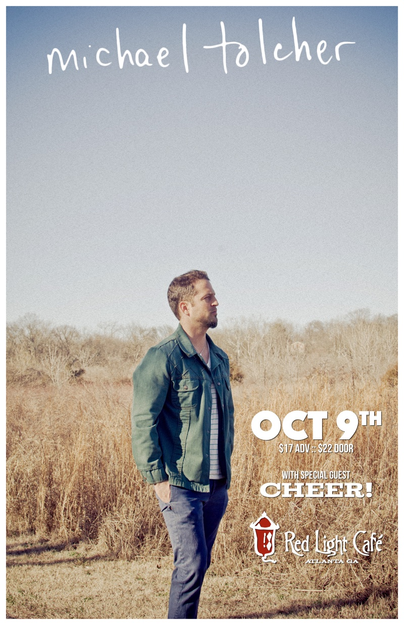 Michael Tolcher's Birthday Show w/ early show by cheer! — October 9, 2015 — Red Light Café, Atlanta, GA