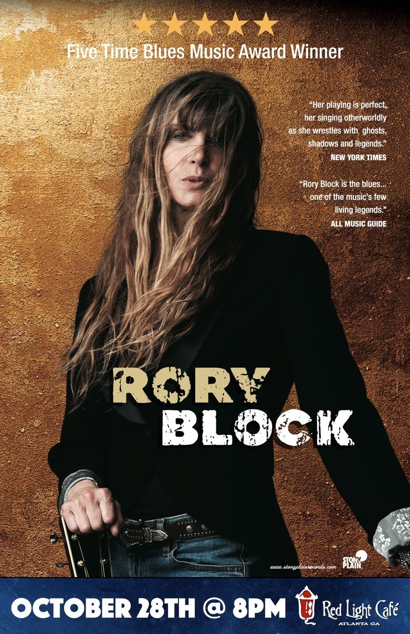 Rory Block — October 28, 2015 — Red Light Café, Atlanta, GA