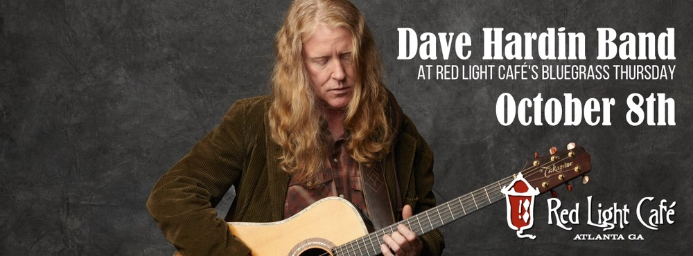 Dave Hardin Band — October 8, 2015 — Red Light Café, Atlanta, GA