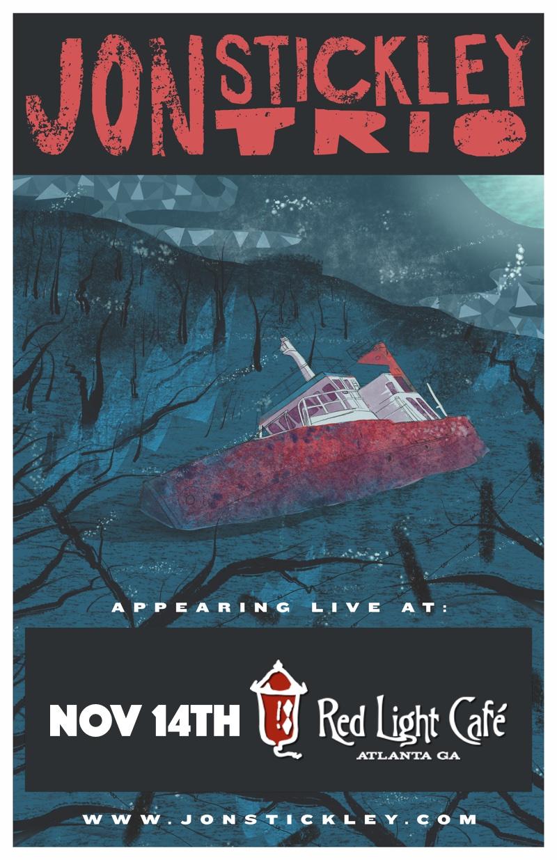 Jon Stickley Trio — November 14, 2015 — Red Light Café, Atlanta, GA