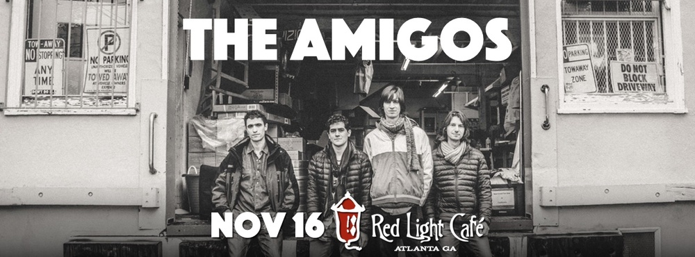 The Amigos — November 16, 2015 — Red Light Café, Atlanta, GA