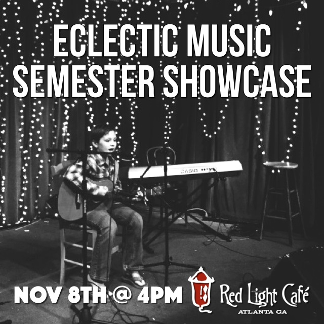 Eclectic Music Semester Showcase — November 8, 2015 — Red Light Café, Atlanta, GA