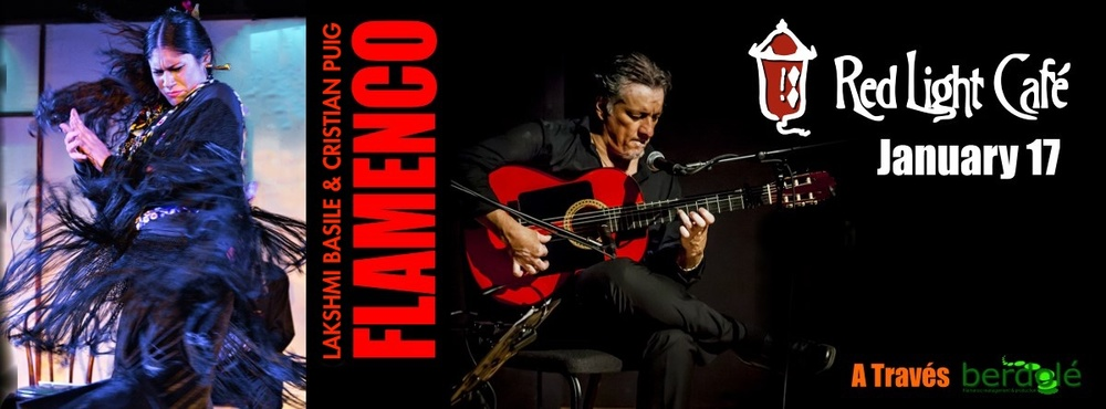 FLAMENCO feat. Lakshmi Basile + Cristian Puig — January 17, 2016 — Red Light Café, Atlanta, GA