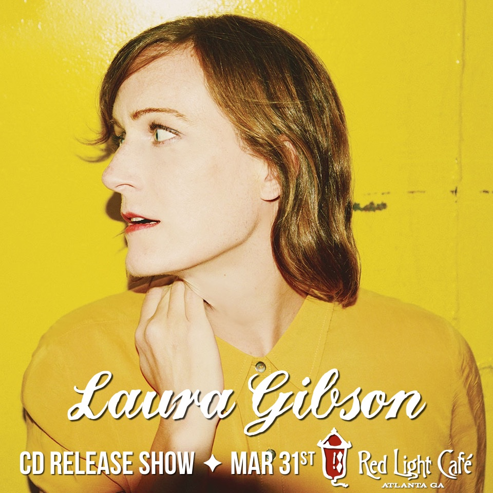 Laura Gibson CD Release Show — March 31, 2016 — Red Light Café, Atlanta, GA