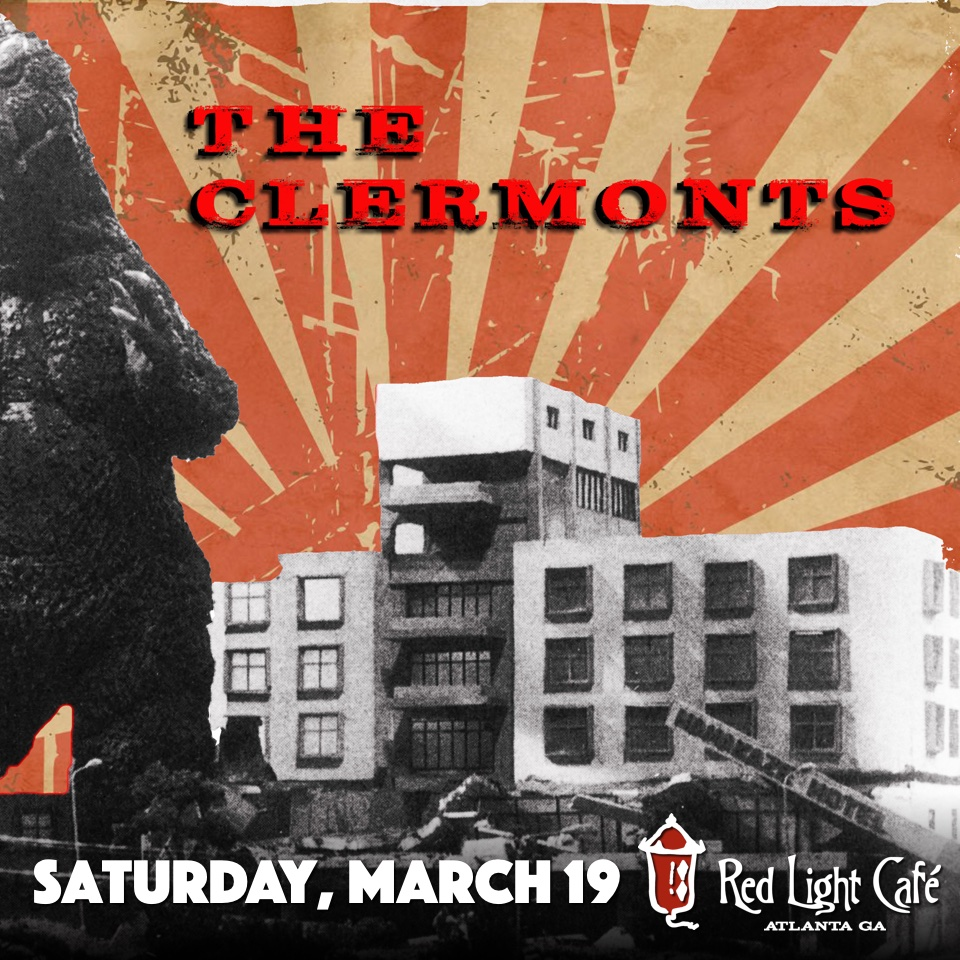 The Clermonts — March 19, 2016 — Red Light Café, Atlanta, GA