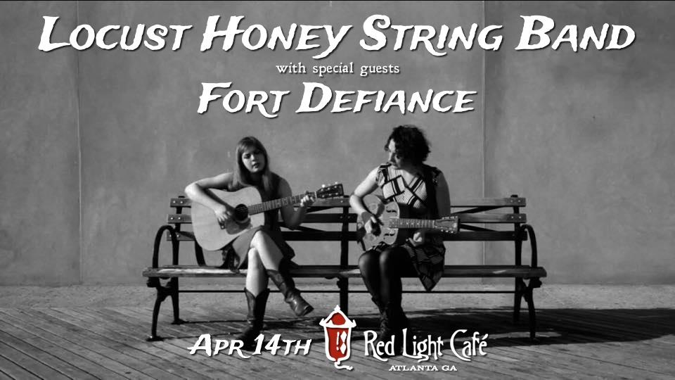 Locust Honey String Band w/ Fort Defiance — April 14, 2016 — Red Light Café, Atlanta, GA