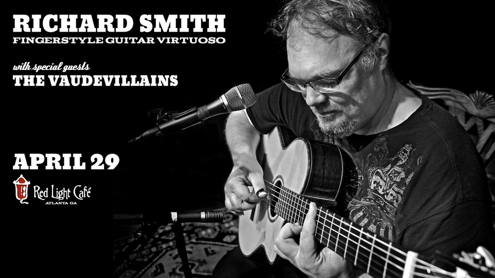 Richard Smith w/ The Vaudevillains — April 29, 2016 — Red Light Café, Atlanta, GA