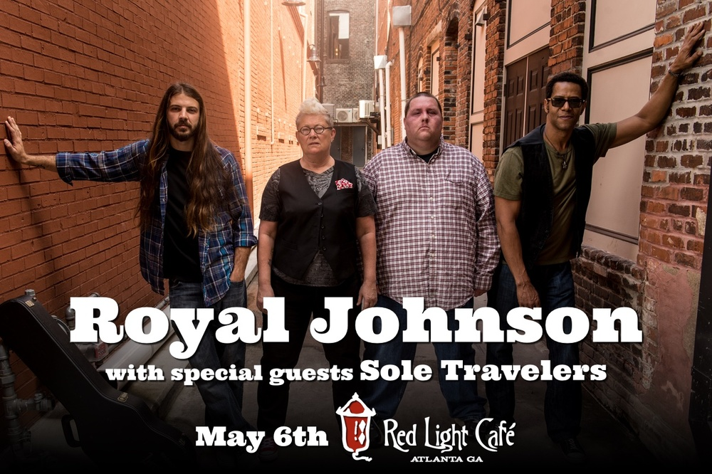 Royal Johnson w/ Sole Travelers — May 6, 2016 — Red Light Café, Atlanta, GA