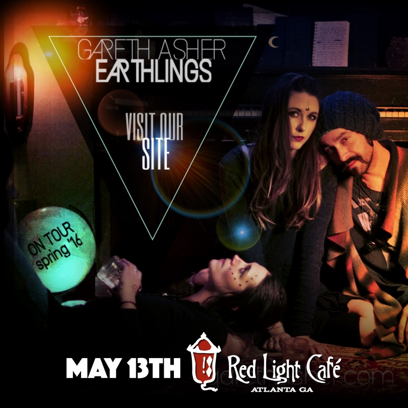 Gareth Asher & The Earthlings — May 13, 2016 — Red Light Café, Atlanta, GA