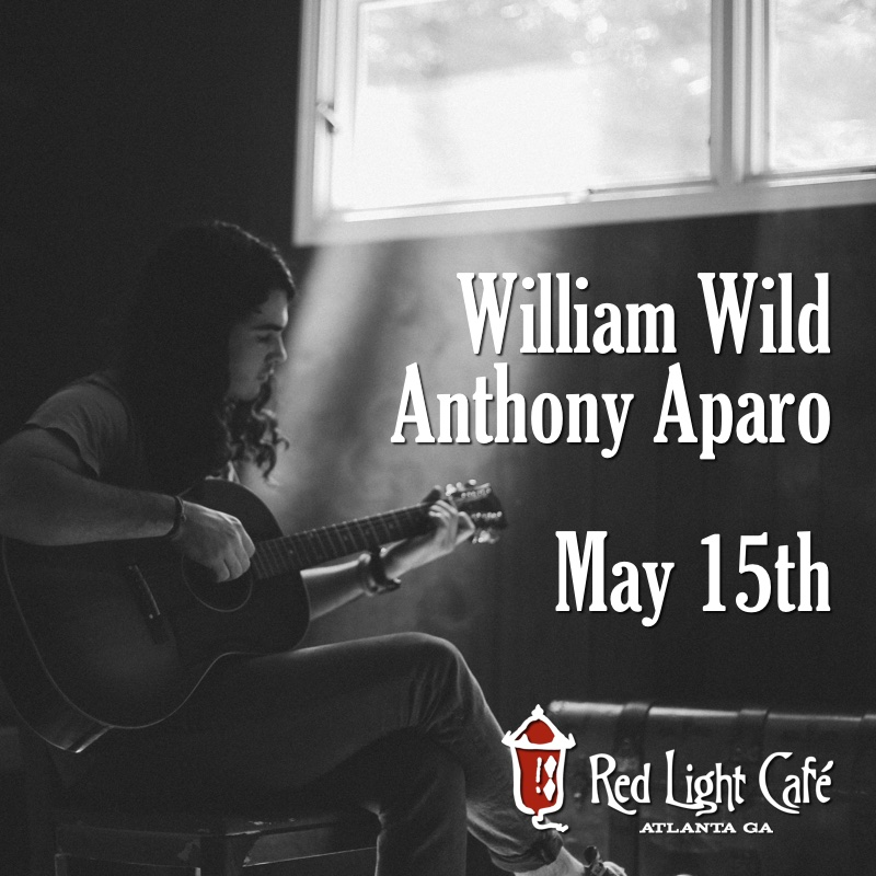 William Wild + Anthony Aparo — May 15, 2016 — Red Light Café, Atlanta, GA