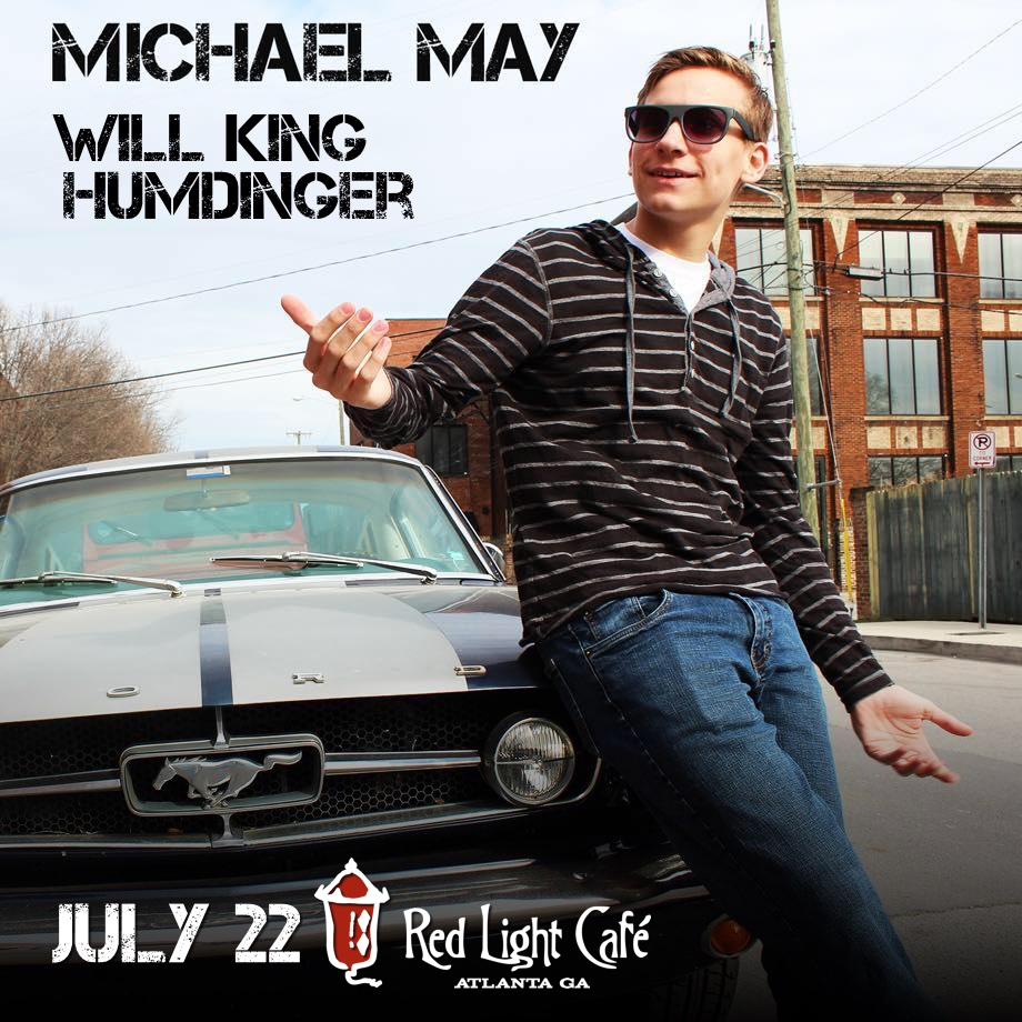 Michael May (of One Tree Hill) w/ Will King + Humdinger — July 22, 2016 — Red Light Café, Atlanta, GA