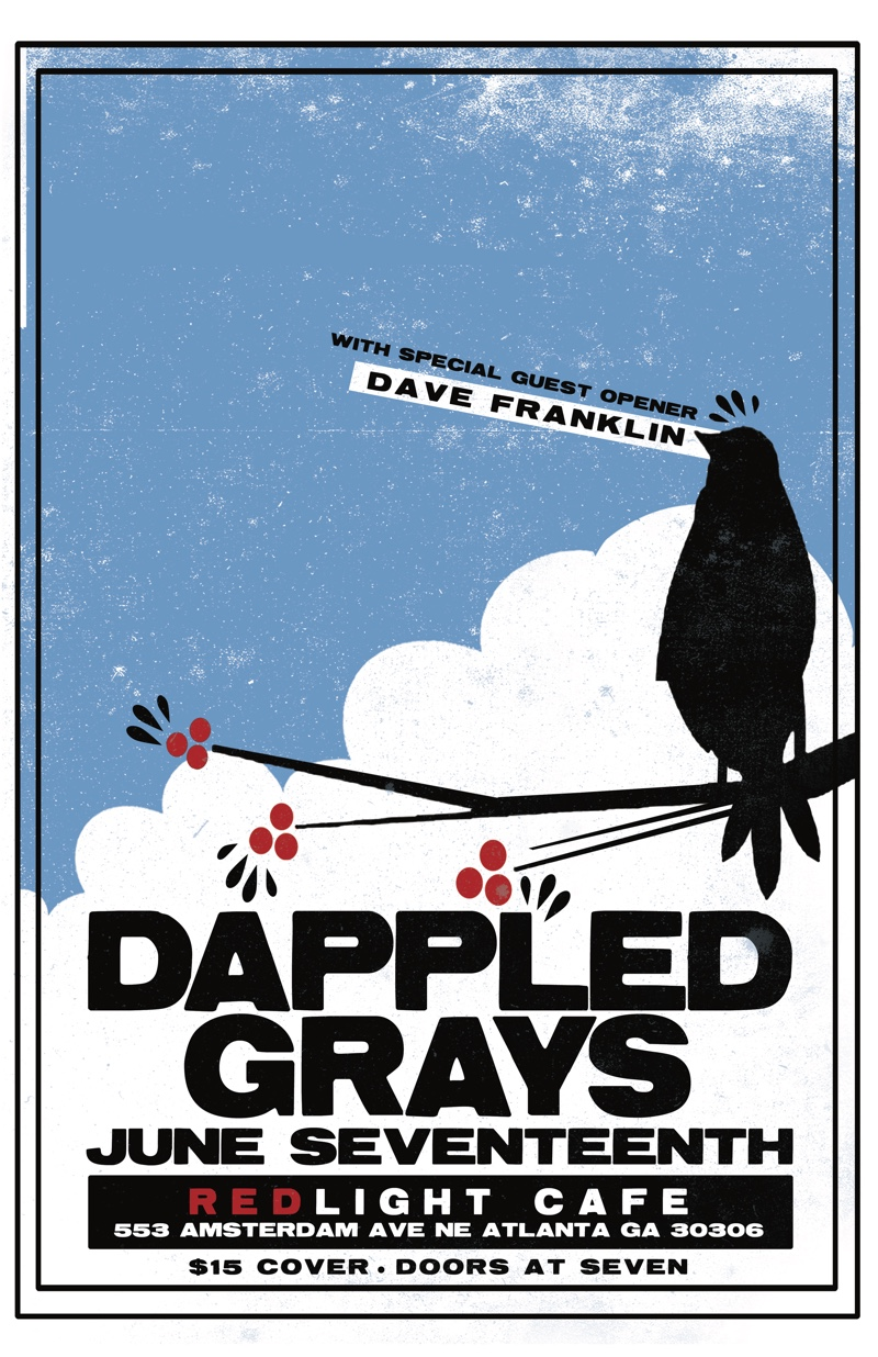 The Dappled Grays w/ Dave Franklin — June 17, 2016 — Red Light Café, Atlanta, GA