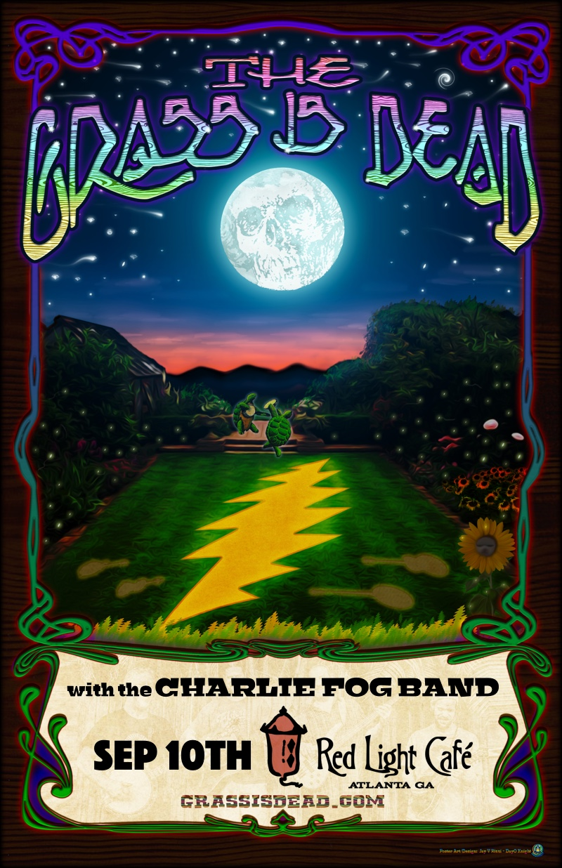 Grass Is Dead w/ Charlie Fog Band — September 10, 2016 — Red Light Café, Atlanta, GA