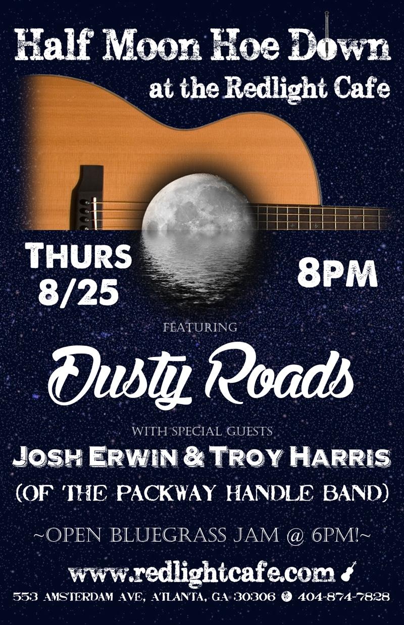 Dusty Roads w/ Josh Erwin & Troy Harris (of Packway Handle Band) — August 25, 2016 — Red Light Café, Atlanta, GA