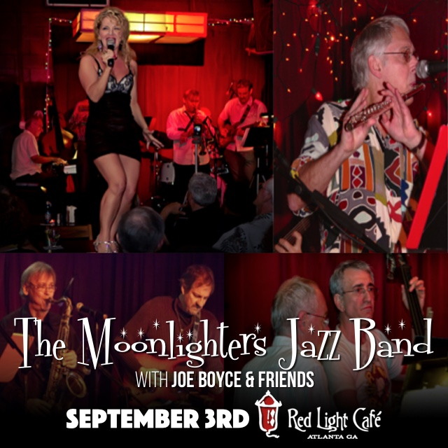 The Moonlighters Jazz Band — September 3, 2016 — Red Light Café, Atlanta, GA