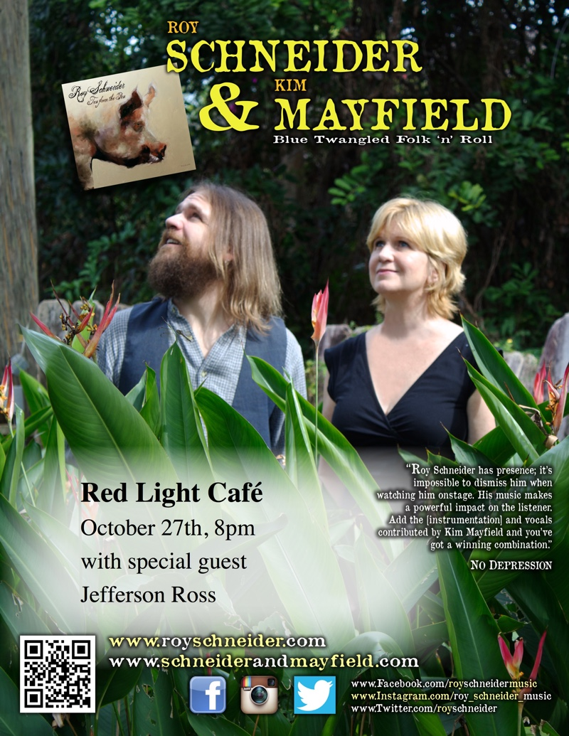 Schneider & Mayfield w/ Jefferson Ross — October 27, 2016 — Red Light Café, Atlanta, GA