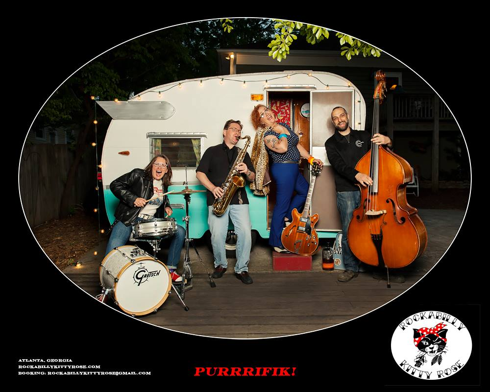 Rockabilly Kitty Rose — October 9, 2016 — Red Light Café, Atlanta, GA