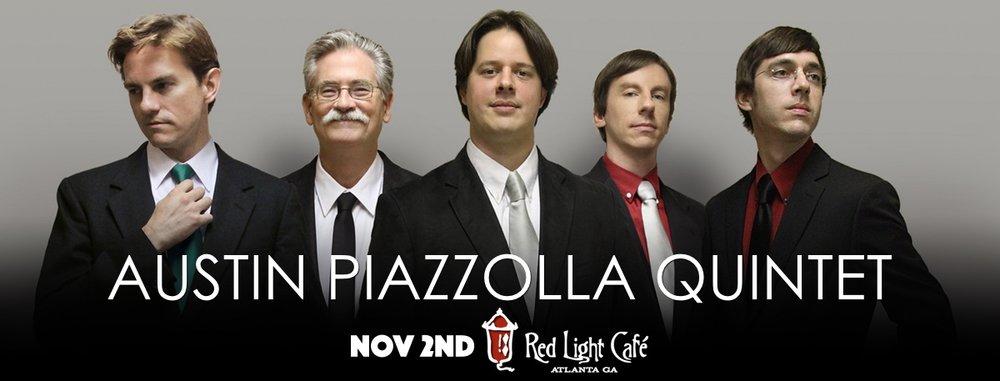 Austin Piazzolla Quintet — November 2, 2016 — Red Light Café, Atlanta, GA