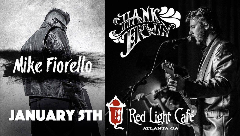 Mike Fiorello + Hank Erwin — January 5, 2017 — Red Light Café, Atlanta, GA