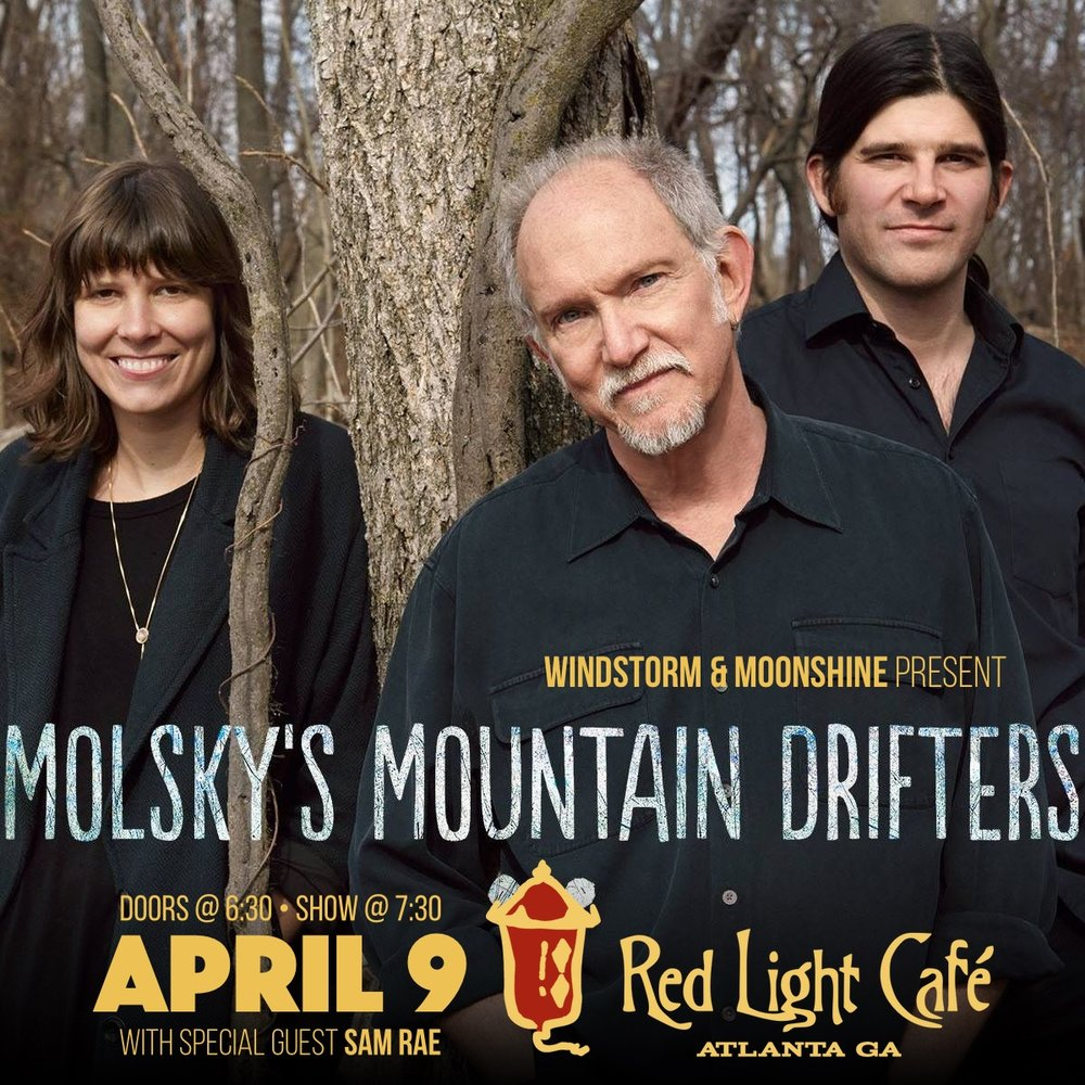 Molsky's Mountain Drifters — April 9, 2017 — Red Light Café, Atlanta, GA