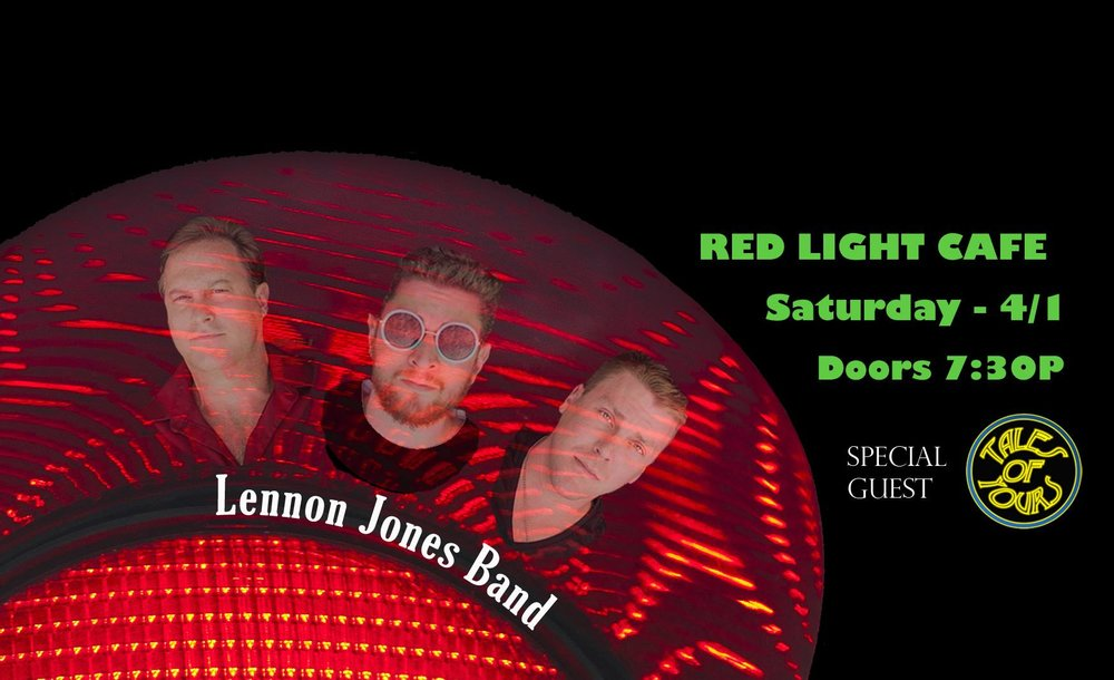 Lennon Jones Band w/ Tales of Yours — April 1, 2017 — Red Light Café, Atlanta, GA