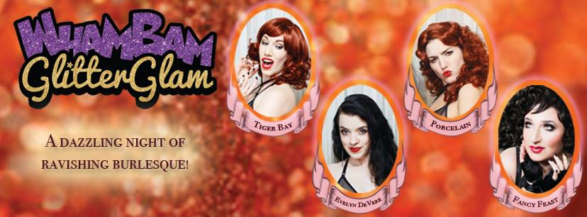Wham Bam Glitter Glam Show — April 30, 2017 — Red Light Café, Atlanta, GA