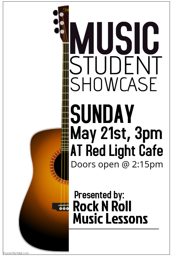 Rock N Roll Music Lessons' Student Spring Showcase — May 21, 2017 — Red Light Café, Atlanta, GA