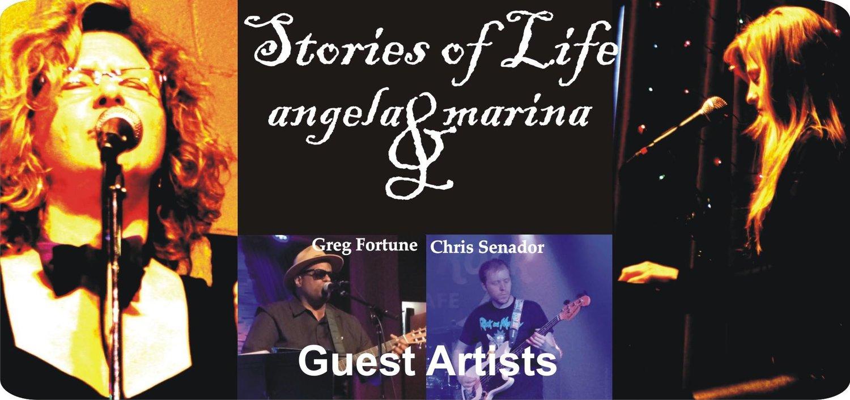 Stories of Life in Music: Angela Durden + Marina Frolova-White — June 16, 2017 — Red Light Café, Atlanta, GA