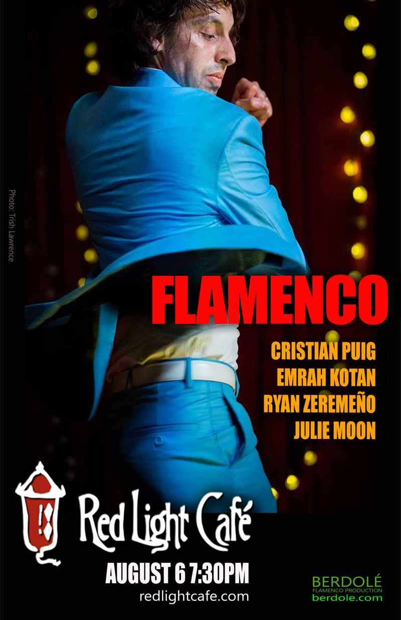 Flamenco feat. Cristian Puig, Emrah Kotan, Ryan Zeremeño + Julie Moon — August 6, 2017 — Red Light Café, Atlanta, GA