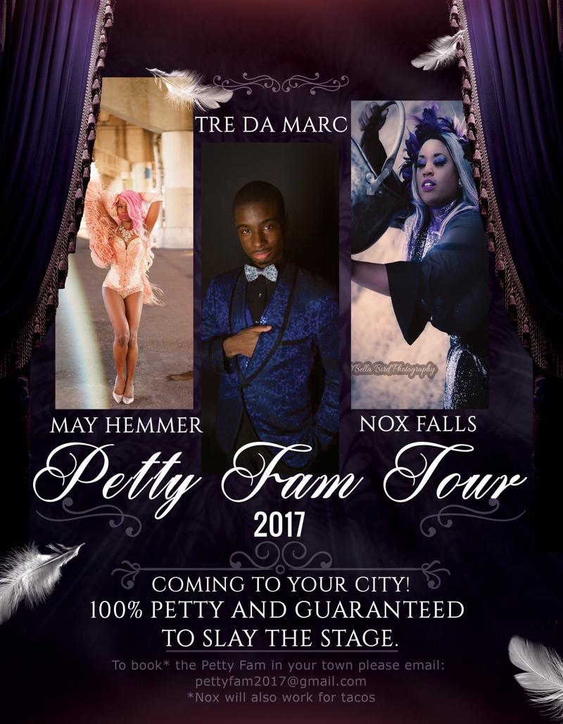 Pretty Fam Burlesque Tour — August 19, 2017 — Red Light Café, Atlanta, GA