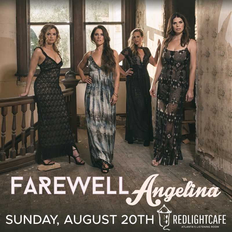 An Evening with Farewell Angelina — August 20, 2017 — Red Light Café, Atlanta, GA