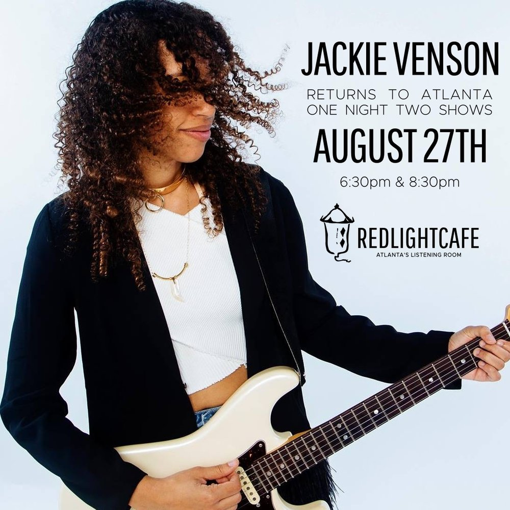 Jackie Venson — August 27, 2017 — Red Light Café, Atlanta, GA