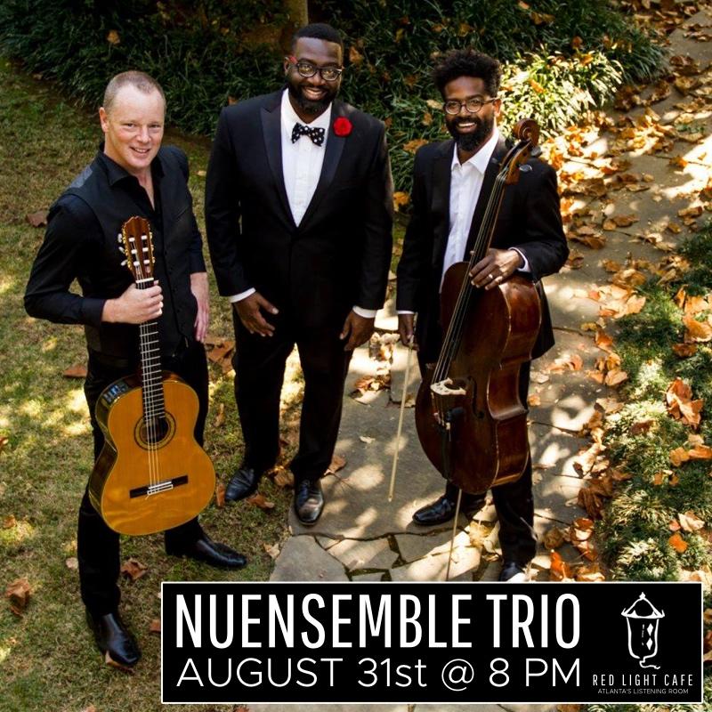 NuEnsemble Trio — August 31, 2017 — Red Light Café, Atlanta, GA