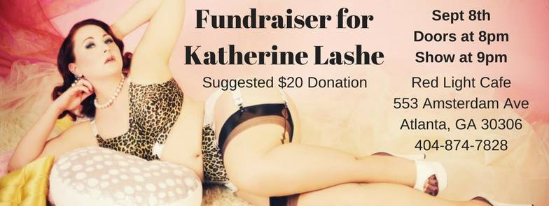 Fundraiser for Katherine Lashe — September 8, 2017 — Red Light Café, Atlanta, GA