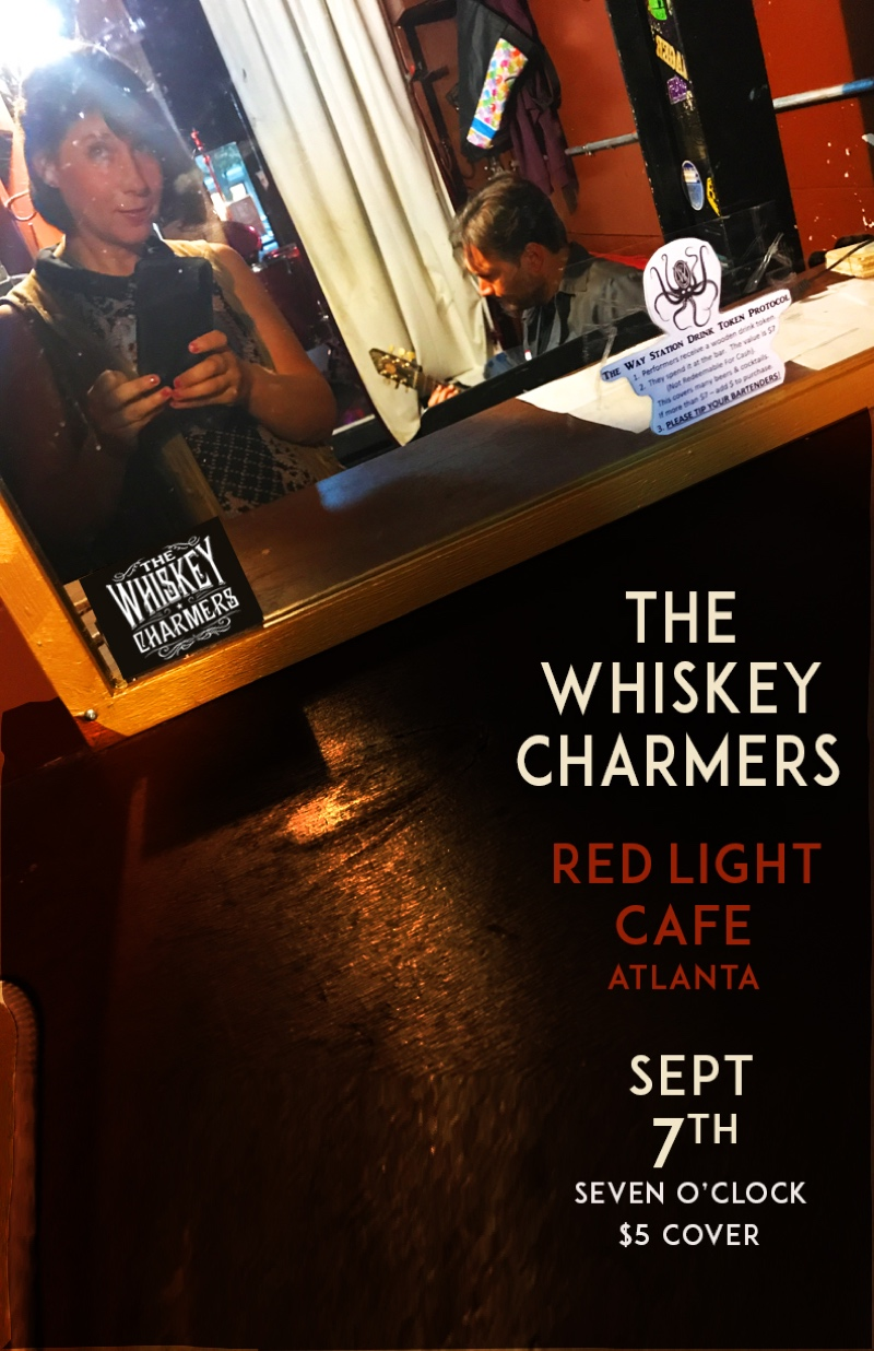 The Whiskey Charmers — September 7, 2017 — Red Light Café, Atlanta, GA