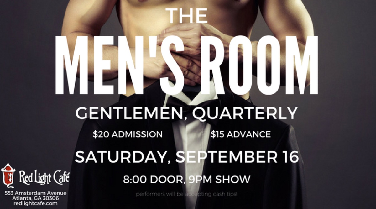 The Men's Room: Gentlemen, Quarterly — September 16, 2017 — Red Light Café, Atlanta, GA