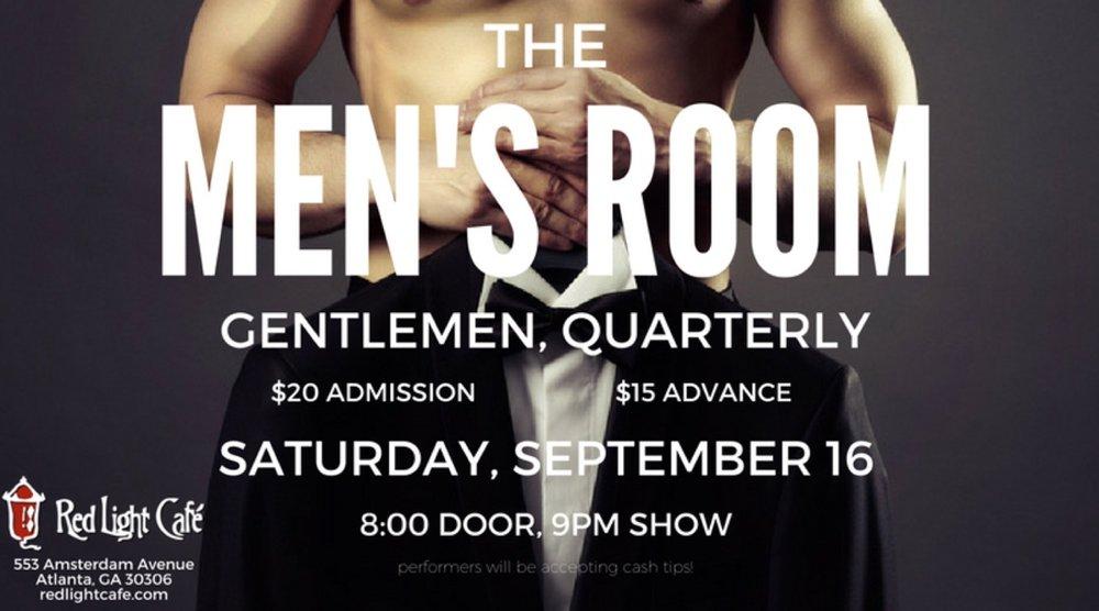 The Men's Room: Gentlemen, Quarterly — September 16, 2017 — Red Light Café, Atlanta, GA