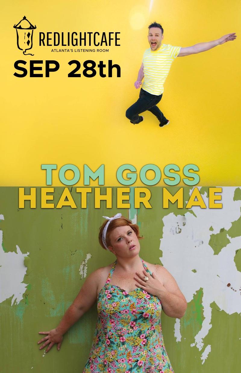 Tom Goss + Heather Mae w/ Aspen Countryman — September 28, 2017 — Red Light Café, Atlanta, GA