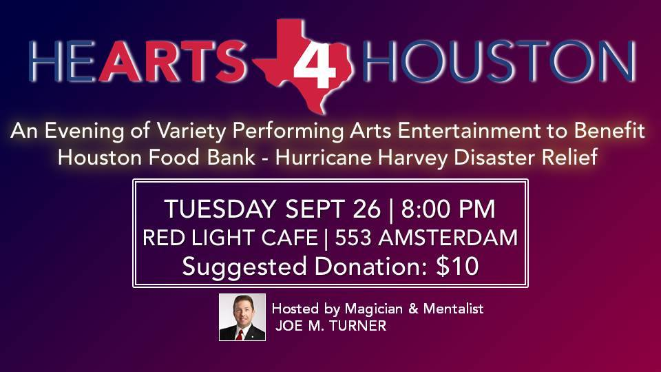 Hearts 4 Houston: Midtown Atlanta Benefit Concert — September 26, 2017 — Red Light Café, Atlanta, GA