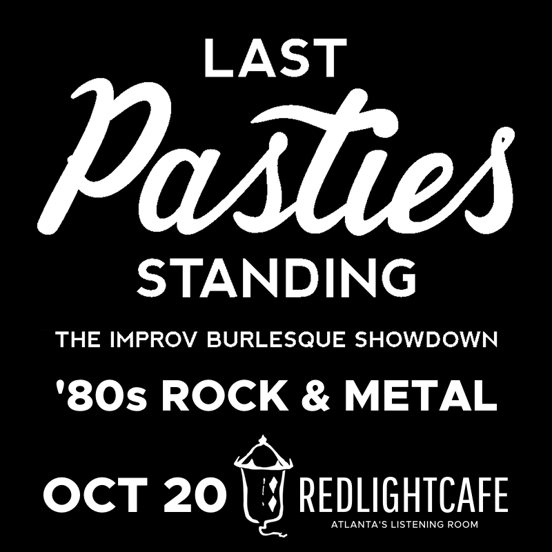 Last Pasties Standing — October 20, 2017 — Red Light Café, Atlanta, GA