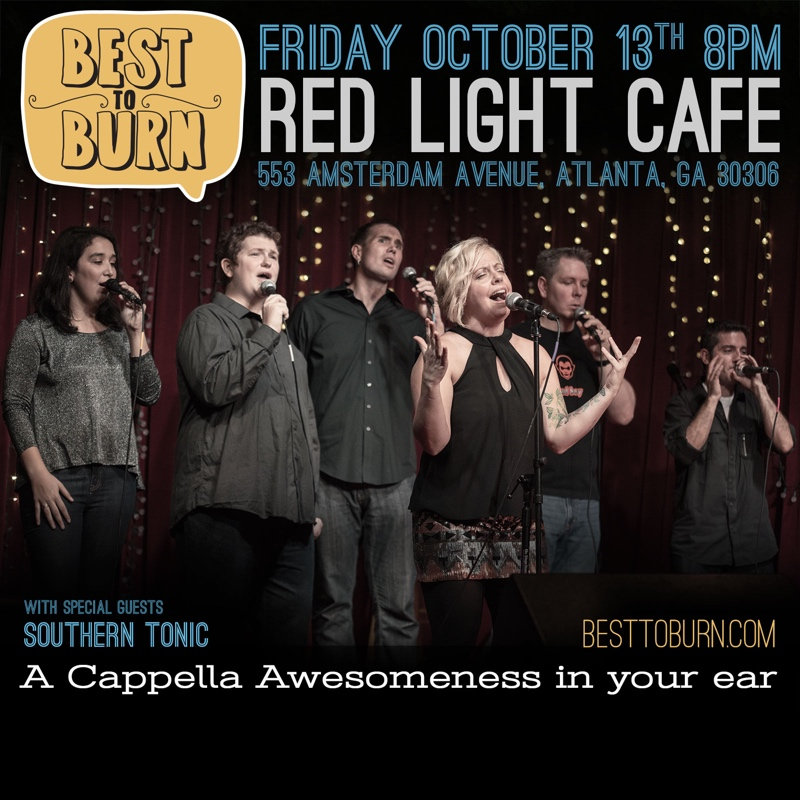 Best To Burn w/ Southern Tonic — October 13, 2017 — Red Light Café, Atlanta, GA