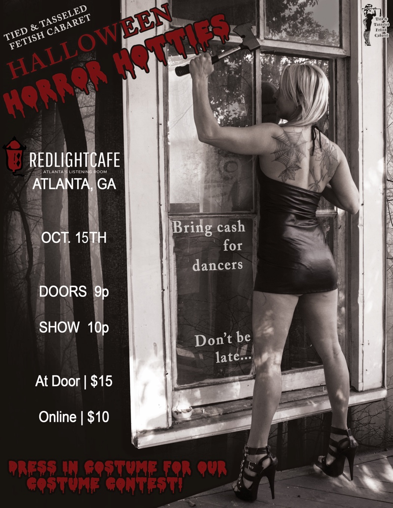 Halloween Horror Hotties Burlesque and Drag — October 15, 2017 — Red Light Café, Atlanta, GA