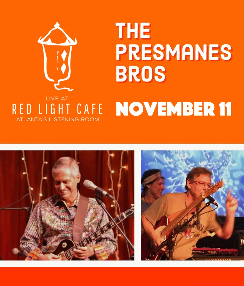 The Presmanes Brothers — November 11, 2017 — Red Light Café, Atlanta, GA