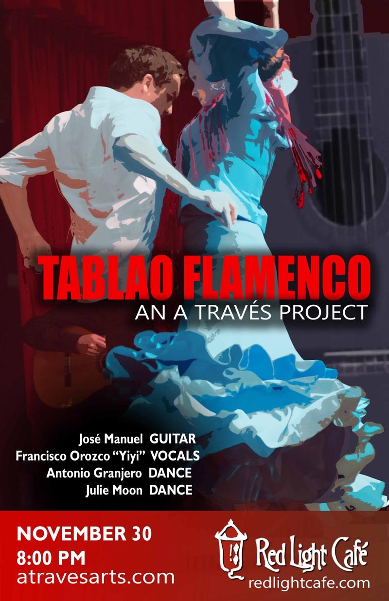 "Flamenco feat. José Manuel + Francisco Orozco ""Yiyi"" + Antonio Granjero + Julie Moon — November 30, 2017 — Red Light Café, Atlanta, GA"
