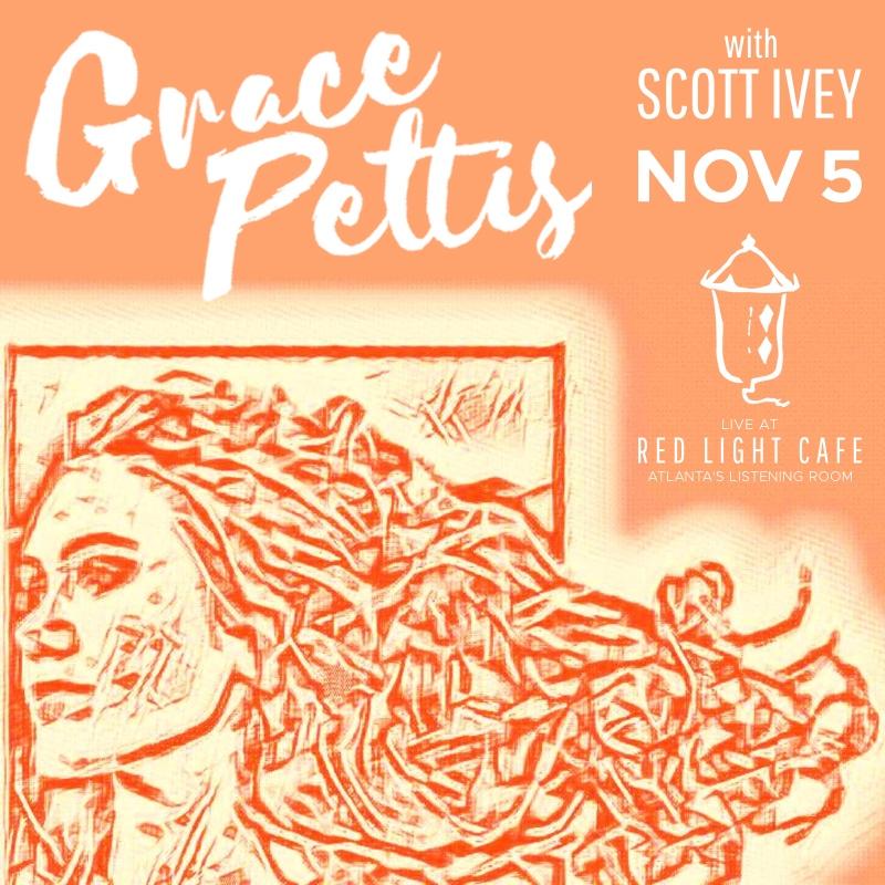 Grace Pettis w/ Scott Ivey — November 5, 2017 — Red Light Café, Atlanta, GA
