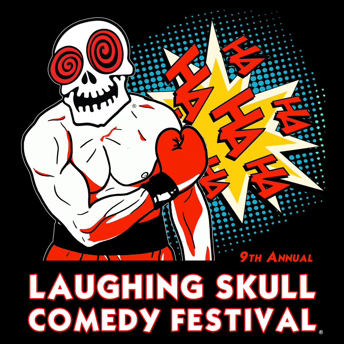 The 9th Annual Laughing Skull Comedy Festival — Thursday Show at Red Light Café — April 26, 2018 — Red Light Café, Atlanta, GA